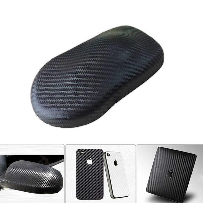 Película de revestimiento de vinilo de fibra de carbono 2D 3D 4D 5D 6D, pegatinas impermeables para coche, consola de ordenador, portátil, accesorios para motocicletas