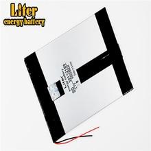 Емкость аккумулятора для планшетного ПК 30112150 3,7 В 6000ма, универсальный литий-ионный аккумулятор для планшетного ПК 9 дюймов 10 дюймов 11 дюймов
