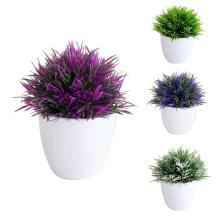 Arrangement Bonsai Simulation Tree-Grass Fake-Plants Plastic Home-Decoration Small Potted