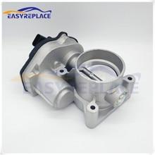 Новый Клапан корпуса дроссельной заслонки 1536736 VP4M5U9E927DC 4M5G9F991FA YP4F9U9E926AC для Ford Mondeo Focus, размер 60 мм
