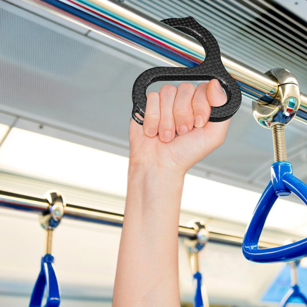 No Touch Door Opener Subway Train Stable Bus Handle Hook Ring Handle Tools Hands Free Press Elevator Button