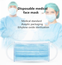 50Pcs Disposable Masks 3 Layer Ear Loop Surgical Surgical Mask Smoke Dust and Personal Health Thicker Breathable Masks