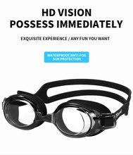 Diving goggles men and women swimming HD anti-fog waterproof professional comfortable large frame