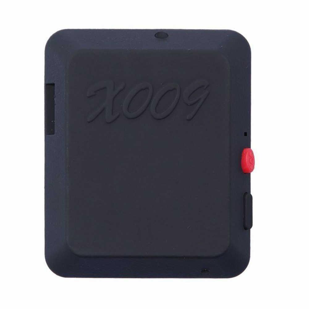 X009 GSM ซิมการ์ด Mini บันทึกเสียงบันทึกหู SOS GPS DV GSM Micro Cam GPRS รถ locator Secret Security Call