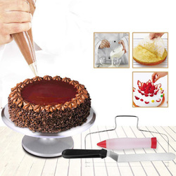 Алюминиевый носик для украшения торта, набор из 132 штук, кондитерские трубки из нержавеющей стали, инструмент для выпечки