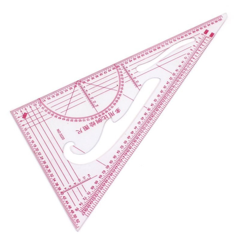 Clothing 1: 3 1: 4 1: 5 Share 90 Degrees Triangular Scale Ruler 2 Parts