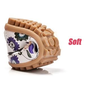 Image 4 - STQ 2020 sonbahar kadın Flats hakiki deri ayakkabı bale daireler üzerinde kayma balerinler Flats kadın ayakkabı Moccasins loafer ayakkabılar 170