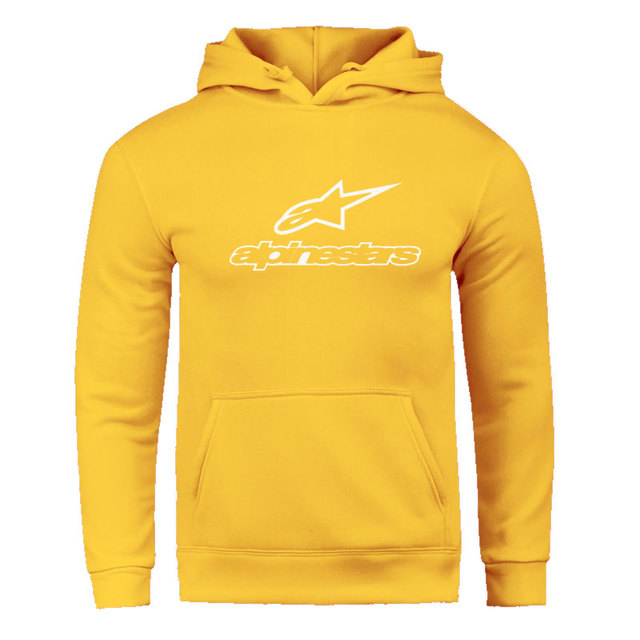 Fall / Winter 2020 Alpine Star Hoodies Men's Fleece Jacket Alpine Star Biker Sweatshirt Men's Pullover Hip Hop Casual Hoodie 6