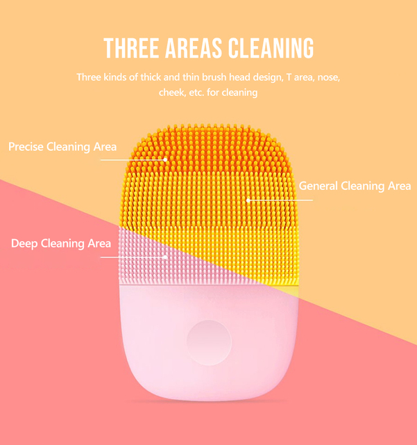 InFace Facial Cleansing Brush Face Skin Care Tools Waterproof Silicone Electric Sonic Cleanser Facial Beauty Massager for face 2
