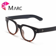 MARC Retro mens Transparent glasses clear lenses Square eyeglasses frames for women reading eyewear male Spectacle