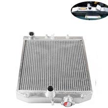 Полностью алюминиевый двухрядный радиатор для honda civic с