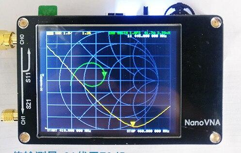 NanoVNA analyseur d'antenne Original 2.8 pouces écran tactile 50 KHz-900 MHz Nano VNA analyseur de réseau vectoriel HF VHF UHF onde debout