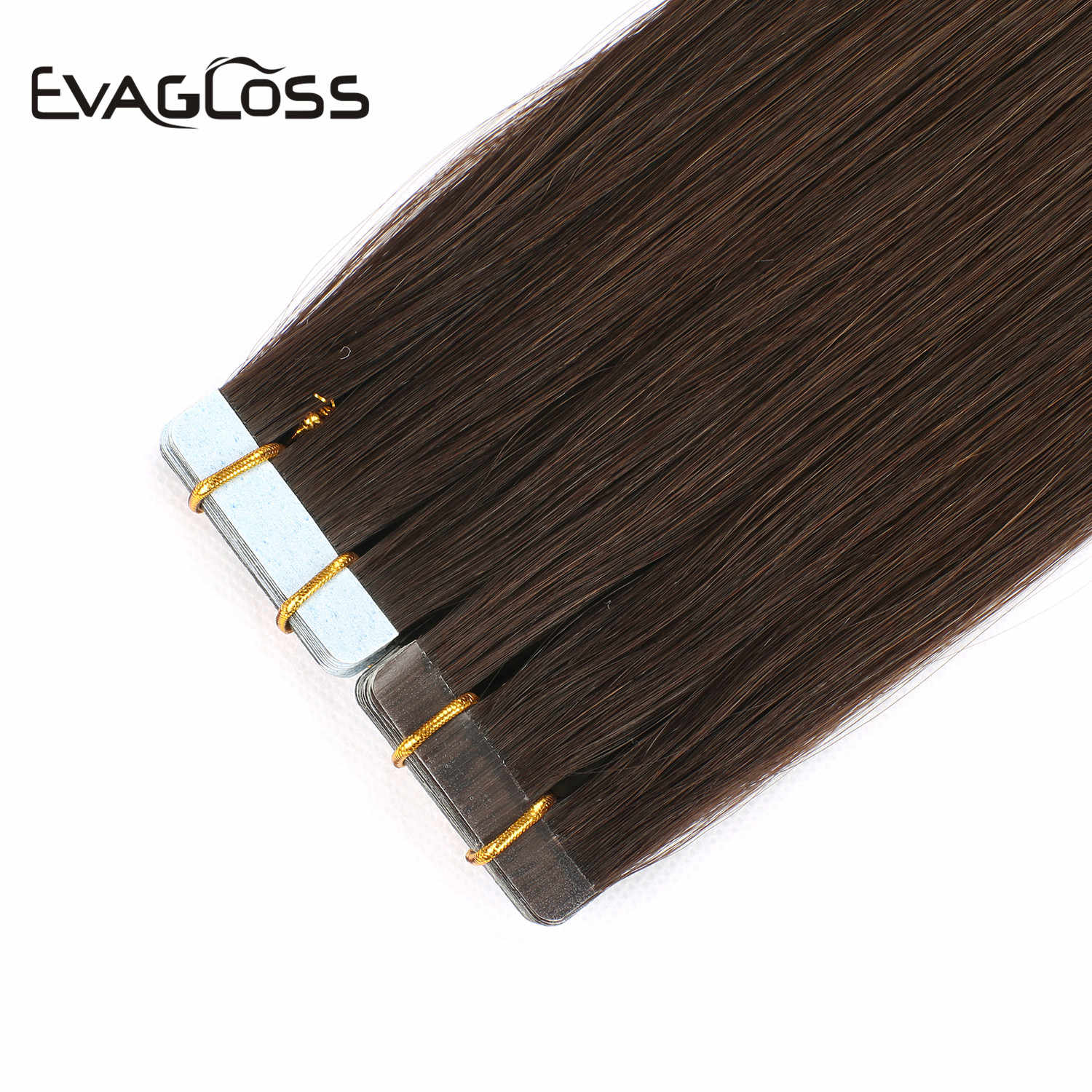 "Skin Weft Machine Remy Tape in Human Hair Extensions 20pcs 40pcs 80pcs Adhesive Double Sided Tape in Hair Extensions 12""/16""/20"""