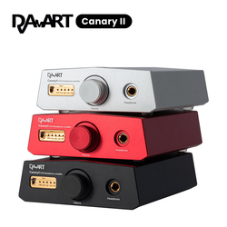 DAART Yulong Canary II ESS9038Q2M DSD512 PCM768KHz CanaryII DAC Decoding Headphone Amplifier