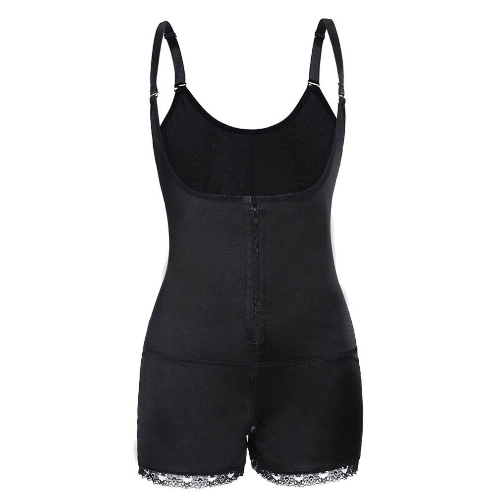 Женский пояс для похудения, форма тела, одежда для хирургии после парто, слинг, пуш-ап, форма тела, строение, ZJ55 - Цвет: Черный