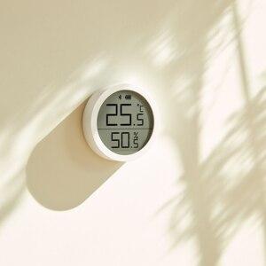 Image 4 - Qingping Bt Thermometer Hygrometer Temperatuur En Vochtigheid Sensor Segment Code Lcd scherm Lite Edition Werken Met Mijia App