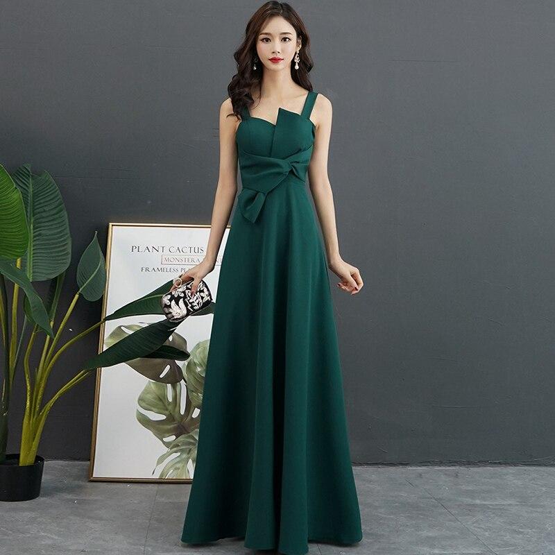 Zipper Green Black Ivory Red Long Bridesmaid Dresses Wholesale Cheap Wedding Party Dress Prom Gown 2019 Women Vestido Madrinha