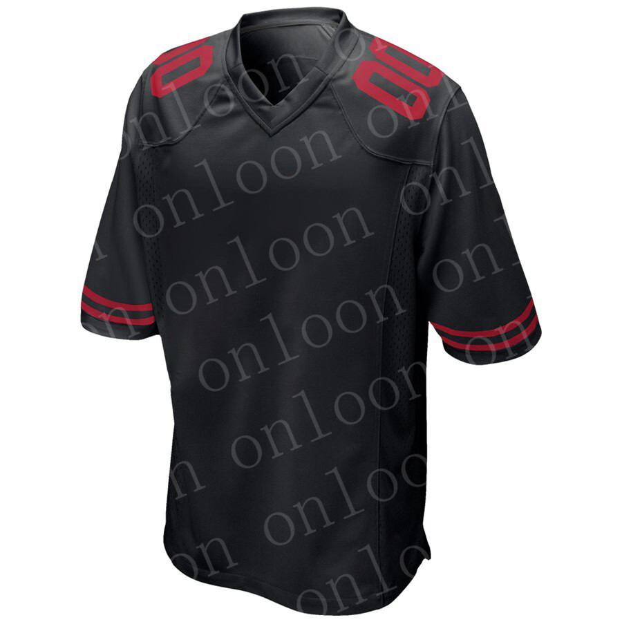 New Game Men 2020 American Football San Francisco Sport Fans Wear George Kittle Jimmy Garoppolo Nick Bosa Deion Sanders Jerseys