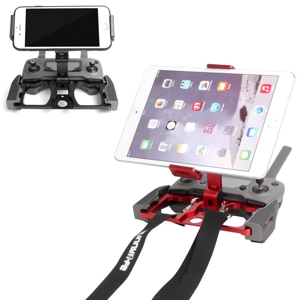 Support de tablette de télécommande support de téléphone support de pliage en métal pour DJI Mavic 2 Zoom Pro Spark Mavic Pro MINI Drone d'air