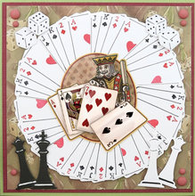Playing Cards Chess Pieces Metal Cutting Dies Stencils for DIY Scrapbooking Decorative Embossing DIY Paper Cards