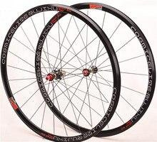 Ultralekkie czterordzeniowe koło rowerowe 700C 30MM felgi V koła hamulcowe bmx szosowe koło rowerowe ze stopu Aluminium 8 9 10 11S zestaw kołowy