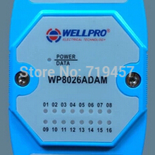 FREE SHIPPING Isolated digital input module 16 channels DI RS485 MODBUS communication, can be computer controlled