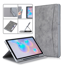 "For Samsung Galaxy Tab S6 Lite Case 10.4"" Stand Cover Funda For Galaxy Tab S6 Lite SM"
