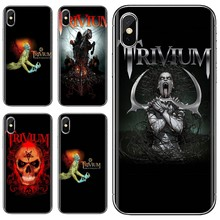 Trivium Metal Rock Band For LG G2 G3 G4 Mini G5 G6 G7 Q6 Q7 Q8 Q9 V10 V20 V30 X Power 2 3 Spirit Pretty Silicone Phone Case(China)