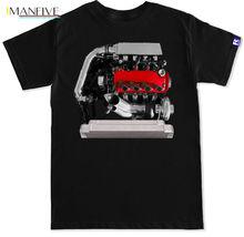 D Series TURBO JDM D16 Motor t3t4 t4 Turbo Kit Golden Eagle manifold T Shirt Summer New Print Cotton Fashion turbo manifold turbocharger kit for nissan safari patrol 4 2l td42 gq gu y60 t3 t4 t3t4 to4e 63 a r oil line turbocompresor