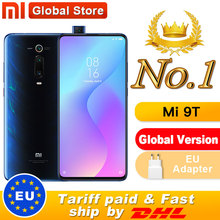 "Globalna wersja Xiaomi Mi 9T 6GB 64GB Smartphone Snapdragon 730 Pop up przednia kamera NFC 6.39 ""48MP Moblie telefon"