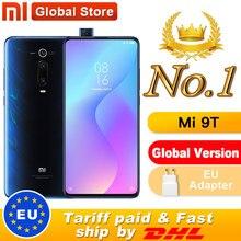 """글로벌 버전 Xiao mi Mi 9T 6GB 64GB 스마트 폰 금어초 730 팝업 전면 카메라 NFC 6.39 """"48MP Moblie phone"""