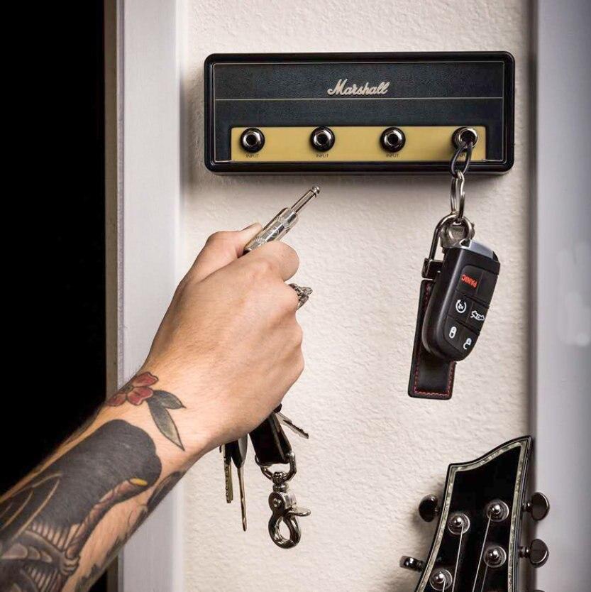 Keychain Holder Marshall Guitar Key Storage Jack II Rack 2.0 Electric Hanging Key Rack Amp Vintage Amplifier JCM800 Standard