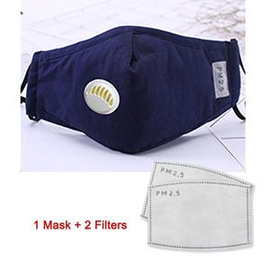 Image 5 - PM2.5 Anti Cotton Haze Mask Breath Valve Anti dust Mouth Mask Activated Carbon Filter Respirator Mouth muffle Mask Face