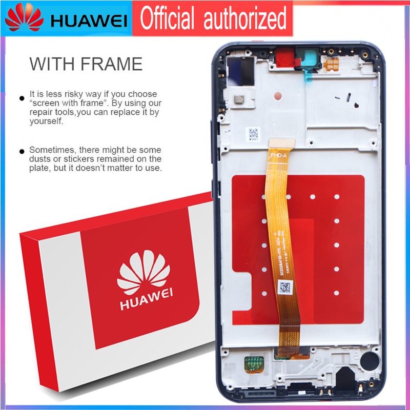 Image 4 - Original 5.84 LCD with Frame for Huawei P20 Lite Nova 3e LCD Display Touch Screen Digitizer Assembly ANE LX1 ANE LX3Mobile Phone LCD Screens   -