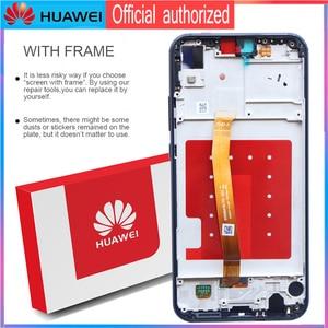 Image 3 - Orijinal 5.84 LCD ekran için çerçeve ile P20 Lite Nova 3e LCD ekran dokunmatik ekran Digitizer meclisi ANE LX1 ANE LX3