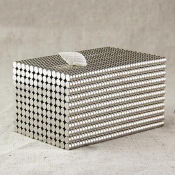 50Pcs 4x2mm Round Shape Rare Earth Neodymium Super Strong Magnetic NdFeB Magnet