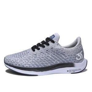 Image 4 - 2020 الصيف بيع الرجال شبكة أحذية الانزلاق على أحذية رياضية حذاء كاجوال وسادة هوائية الذكور الأحذية أحذية رياضية في الهواء الطلق الركض المدربين 46