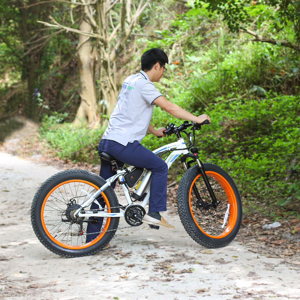 EcoRider E6-5 E6-5 48v 26inch 2 wheel Electric bicycle Big Fat Tire Snow E bike Off Road Bicycle ( Sample Free Postage) 5