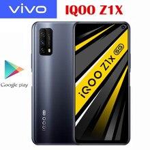 Oficial novo original iqoo z1x 5g smartphone snapdragon 765g 120hz tela de corrida 5000mah bateria 33w traço carga 48.0mp câmera