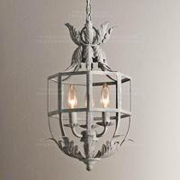 white hanging small chandelier lights globe discount most popular mini cage lantern iron candle chandeliers lighting fixtures