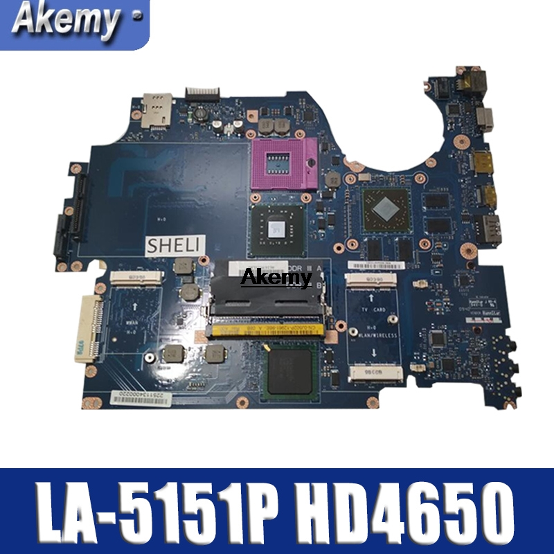 for Dell Studio 1745 Laptop Motherboard J502P Mainboard 0J502P GM45 KAT00 LA-5151P w/ <font><b>HD</b></font> <font><b>4650</b></font> works image