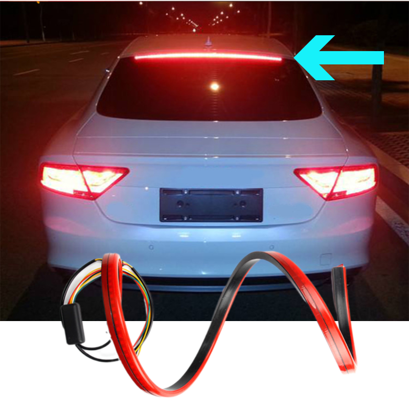 Car Brake Light Warning Turn Signal LED Strips Tail High Mount Stop Lamp For Mazda 6 GH CX5 2019 CX3 CX30 MX5 Atenza Axela CX4