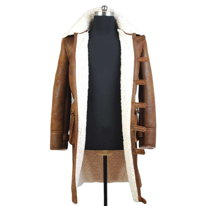 Bane Dorrance Leather Trench Coat Movie Halloween Cosplay Costume Jacket Outfit Suit for Men Custom Made cosplay costume halloween cosplaycostum jacket - AliExpress