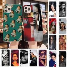Cover for Phone-Case Rihanna Black 6s-Plus 5S X Yinuoda 11 8 7 TPU Smoke Soft Pro-Xs