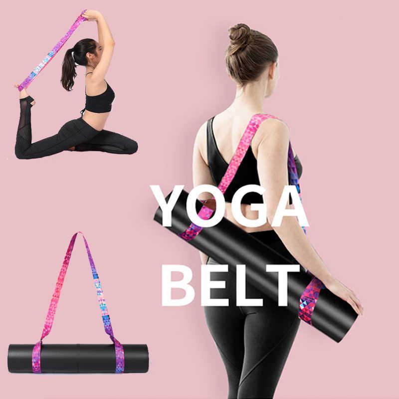 Yoga Mat Carry Strap adjustable shoulder yoga mat sling Pilates Exercise Fitness