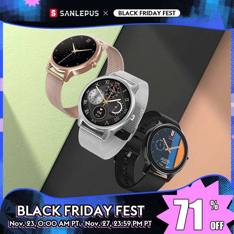 2020 NEW SANLEPUS Smart Watch Fashion Women Smartwatch Casual Men Sport Fitness Bracelet Band For Android Apple Xiaomi Honor|Smart Watches| - AliExpress