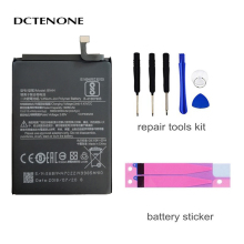 DCTENONE Original BN44 Mobile Phone Battery For Xiaomi Redmi 5 Plus Real Capacity 4000mAh Replacement Li-ion Battery + Tool