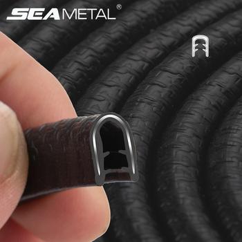 Ochronna krawędź do drzwi samochodu Protector uniwersalna osłona drzwi samochodowych listwy ochronne uniwersalne drzwi samochodowe osłona bagażnika uszczelka uszczelniająca tanie i dobre opinie SEAMETAL CN (pochodzenie) 0inch 2021 2020 2019 2017 2018 2016 Car Sealing Strip PVC Steel Stylowe listwy 0 7kg protection