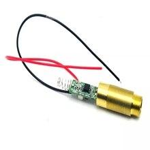 532нм +80 мВт промышленный латунь зеленый луч лазер точка диод модуль w драйвер плата выход