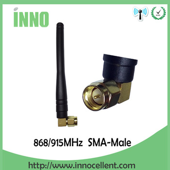 1pcs 868MHz 915MHz Antenna 3dbi SMA Male Connector GSM 915 MHz 868 MHz antena outdoor signal repeater antenne waterproof Lorawan gsm antenna 868mhz 915mhz glued strip 868m patch antenna sma male connector aerial 3 meters cable 868 mhz 915 mhz antena antenne